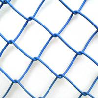 "Wholesale BWG18 blue chain link mesh , 2.4"" , 3"" , Plastic Coated Iron from china suppliers"