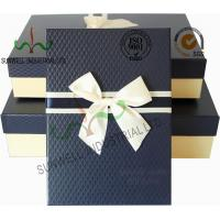Wholesale Recycled Multi Colored Retails Apparel Gift Boxes Ribbon Bow Decorated Packaging from china suppliers