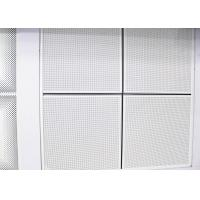 Wholesale Perforated Lay In Suspended Metal 1200 x 600 Ceiling Tiles Sheet For Office Building from china suppliers