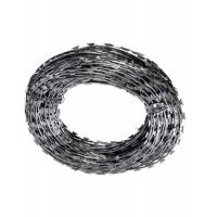 Wholesale Anti Corrosion Custom Stainless Steel Razor Wire , Security Fence Razor Wire from china suppliers