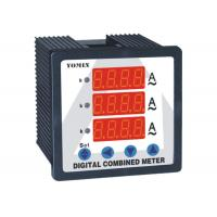 Wholesale Programmable Single Phase Digital DC Ammeter Combination Reading For 3 Current from china suppliers