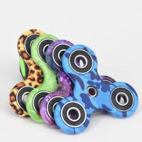 Wholesale Fashionable Stress Relief Fidget Spinner With Ceramic Bearing , Camouflage Series from china suppliers