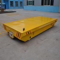 Wholesale 10t load capacity steel railroad  trolley running on straight railway from china suppliers