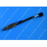 Wholesale External HD Mini SAS SFF-8643 to SFF-8644 cable  0.3 Meter Black from china suppliers