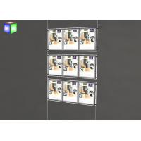 Wholesale Two Sided Wall Mounted LED Light Window Displays For Estate Agents from china suppliers