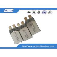 Quality VDE Bimetal Fuse N.C Thermal Fuse Color Code , Single Pole Thermal Type Breakers for sale