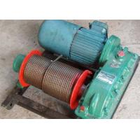 Wholesale 10t towed wire rope electric winch for construction pulling from china suppliers