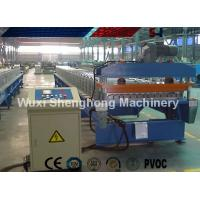 Wholesale Finished Steel Roof Tile Roll Forming Machine 25 M / Min High Production Capacity from china suppliers