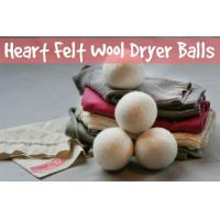 Wholesale Laundry dryer eco laundry dryer XL natural wool dryer ball with cotton bag no LOGO from china suppliers