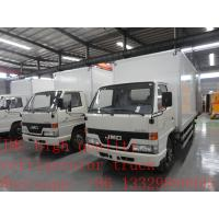 Wholesale 115hp 4x2 JMC freezer truck for sale from china suppliers