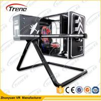 Wholesale Interactive Full Motion VR Flight Simulator , 360 Degree Flight Simulator Machine from china suppliers