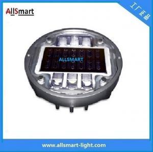 Wholesale Solar road stud ASD-013 CE IP68 alluminum road solar road marker solar warning lights from china suppliers
