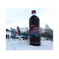 Wholesale Floating Bottle Display Promotional Giant Inflatable Beverage For Outdoor Activity from china suppliers