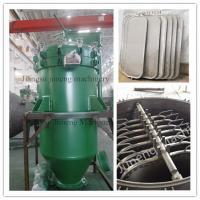 Wholesale Automatic Discharge Pressure Vertical Leaf Filter Press Equipment  High Efficiency from china suppliers