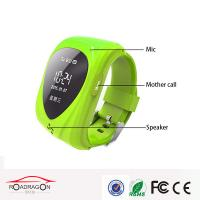 Wholesale Mini pinck color gps Wrist Watch bacelet GPS  watch phone tracker for kids care from china suppliers