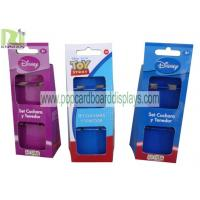 Wholesale Supermarket Cardboard Box Package for Utensils , Purple Blue Red from china suppliers
