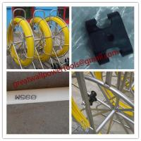 Quality Yellow Duct Snake,Non-Conductive Duct Rodders,Fiber snake for sale