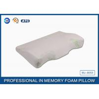 Wholesale Orthopedic Design Convex Curved Memory Foam Bamboo Pillow / Memory Foam Support Pillow from china suppliers