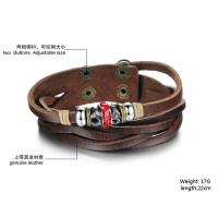 Wholesale Buy fashion jewelry leather braclet hot sales factory priceBR38 from china suppliers