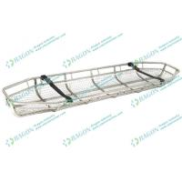 Wholesale Sturdy and flexible Stainless steel rescue basket stretcher with two safety belts from china suppliers