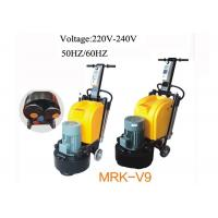 Wholesale 9 Heads Manual Marble Floor Polishing Machine , Terrazzo Floor Polisher from china suppliers