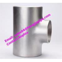 Wholesale DIN2615 Stainless steel 1.4301 reducing tee/ pipe tee from china suppliers