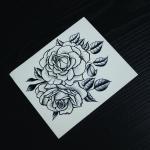 Fashion Body Tattoo Stickers , Customizable Fake Hand Tattoo Stickers