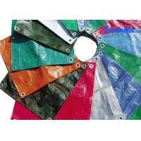 Wholesale Colorful Anti UV High Gloss Laminated HDPE Tarpaulins for Roof / Awning Covering from china suppliers
