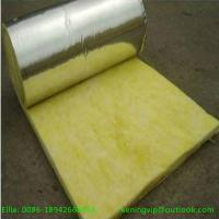 Wholesale Fiber glass wool blanket with Alum.foil for oven insulation from china suppliers