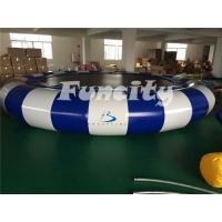 Wholesale Customized Inflatable Water Toys For Kids , Inflatable Water Trampoline with Stailess Steel Spring from china suppliers