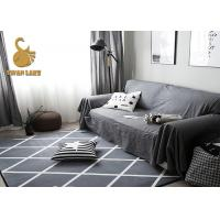 Wholesale 3D Printed soft Polyester flooring carpet anti-slip dots floor mat from china suppliers