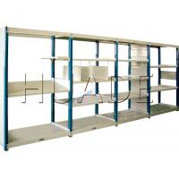 Wholesale Medium Duty Long Span Shelving Boltless Storage Rack For Boxes / Cartons / Bins Storage from china suppliers