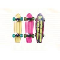 Wholesale Children 17 Inch Plastic Fish Penny Skateboard Professional Skateboarding Equipment from china suppliers