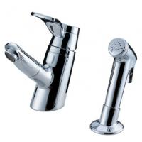 Wholesale Sink Mounted Brass Two Hole Bathroom Faucet from china suppliers
