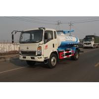 Wholesale Sinotruck 8M3 Sewage Suction Truck SWZ 4 X 2  129hp Self Discharge ZF8098 from china suppliers