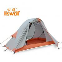 Wholesale Hewolf Single person double layer ultra light anti rainstorm camping Tent wholesale from china suppliers