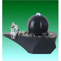 Wholesale Cast Ball Lighted Tabletop Water Fountain , Small Table Water Fountains from china suppliers
