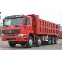 Wholesale 4 Axle Heavy Duty Dump Truck 30 Tons Loading Capacity Ten Wheel Tipper from china suppliers