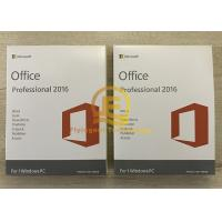 Quality Microsoft office 2016 OEM 64 Bit DVD Retail  / PKC Online Activation Guarantee for sale
