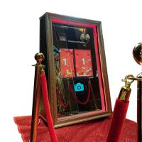 Quality Automatic 360 Degree Selfie Magic Mirror Photo Booth Case For Entertainment for sale