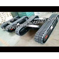 Wholesale factory directly offered 1.5 ton  rubber track system rubber crawler undercarriage rubber track undercarriage from china suppliers