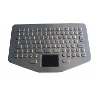Wholesale IP65 Vandal Proof Stainless Steel Keyboard Touchpad For Ruggedized Computer from china suppliers