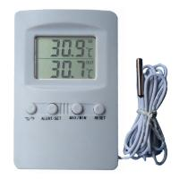 Wholesale LCD Household Desk Digital Thermometer Hygrometer Max/Min Indoor Outdoor Temperature Meter With Sensor Pro from china suppliers