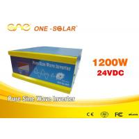 Quality Single Output Solar Inverter Online 12v 110v Pure Sine Wave Power Inverter for sale