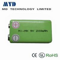 Wholesale NI-MH 9V 200mAh rechargeable ups battery pack from china suppliers