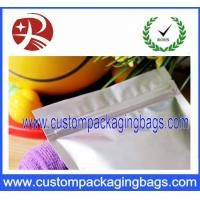 Wholesale Ziplock Proof Stand Up Pouches / Insulated Resealable Aluminium Foil Bags from china suppliers