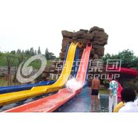 Wholesale Playground Equipment Fiberglass Product With Stainless Steel Slides HT-06 from china suppliers