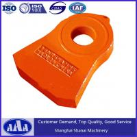 Wholesale high chrome manganese crusher hammer plate hammer head from china suppliers
