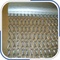 Quality Customized 2.0 mm thickness aluminum double hooks chain fly screen door curtain for sale