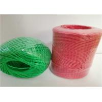 Wholesale PP Split Film Polypropylene Baling Twine , Hay Bale Twine Blue Color from china suppliers